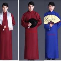 Baju Terusan pria tradisional china cheognsam model IP-Man shanghai