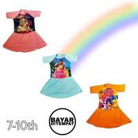 baju renang rok anak cewek perempuan SD karakter