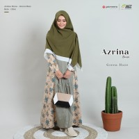 Azrina dress Green Haze by Yasmeera/Gamis Katun medina /Gamis saja