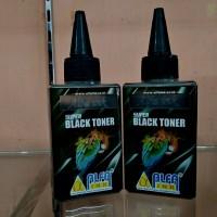 super black toner alfaink for use HP laser hitam serbuk