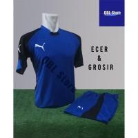 Baju Futsal Kaos Futsal Setelan Futsal Jersey Nike Puma Benhur Hitam