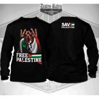 Kaos Distro/Baju Dakwah Muslim Tauhid Islami Free Palestine Terbaru