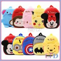 ELFYDO - Tas Ransel Mini Anak Aneka Karakter Bag Backpack Kids Import