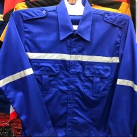 Seragam Kerja Safety Asgard / Baju Kerja Asgard Bahan Japan Drill