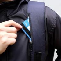 Austin Backpack Navy - Grey Moral Supply Tas Ransel Pria & Wanita New