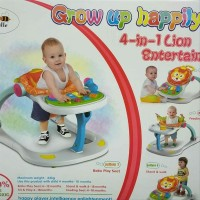 Labeille Baby Walker Lion 4 in 1-Grow Up Happily Great