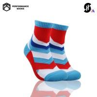 Stayhoops - Kaos Kaki Fashion / Olahraga Anak Bermotif - Mount Red