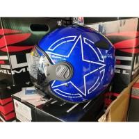 terlaris ZEUS Helm zs 210 BLUE Star
