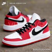 Sepatu Nike Air Jordan 1 Low Chicago Red White