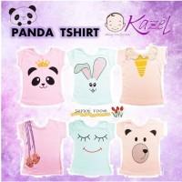 SALE kaos anak kazel t-shirt panda edition
