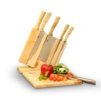 Oxone OX95 Wooden Knife Set Pisau Dapur