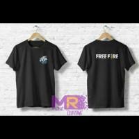 Freefire Evos Kaos Baju Tshirt Keren Bisa Desain Sendiri