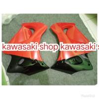 fairing sayap atas body bodi ninja rr old hijau hitam merah original