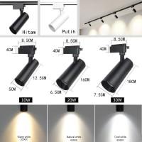 lampu led track light cob 10w lampu spot light rel 10 watt HL X1010