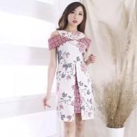 Nini Batik Elegant Dress Baju Wanita Imlek CNY Lunar Shirt 6248