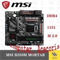 MSI b250m Mortar Desktop LGA 1151 DDR4 USB 2.0 USB3.1 SATA3 DVI HDMI 6