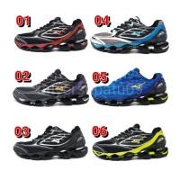Sepatu Volly Mizuno Wave Prophecy 6 Blue Yellow Murah