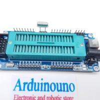 Minimum System Atmega 16 32 8535 minsys Monster 5V regulator ZIF soket