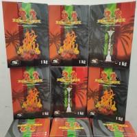 arang 33 shisha shisa premium charcoal 1 kg