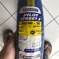 Ban Motor Tubeless Michelin Pilot Street 2 80/90 - 14 Vario Beat Mio
