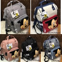 TAS RANSEL ANELLO DIAPERS BABY MICKY