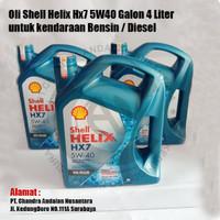Oli Shell Helix HX7 5W40 Galon 4liter