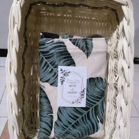 Grosir souvenir hampers bridesmaids tas wanita/handbag/totebag kanvas