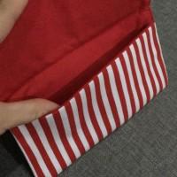 angpao dompet bahan kain 1 slot, tanpa kancing, tanpa nama 6pcs
