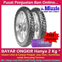 Paket Mizzle M52 80 90-14 & 90 90-14 Ban Matic Tubetype Trail & GRAT