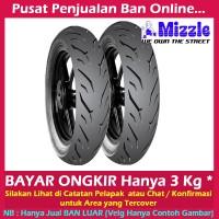 Paket Mizzle M99 Ukuran 110 70-13 & 130 70-13 Ban Motor Tubeless Nma