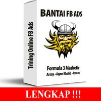 Termurah Bntai - Bantai FB Ads - Formula 3 Masketir