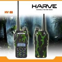 Harve HV-88 5 Watt Army / bukan uv82 5 watt / UV 82 / HT Baofeng UV-82