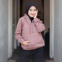 Sweater Hodie Wanita Zaira