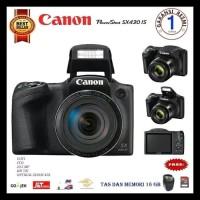 Canon PowerShot SX430 IS - 20.5MP Garansi Resmi Free Memory SD dan tas