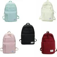 Ransel Backpack Stylish Polos Phuim Clever / Tas Sekolah Anak