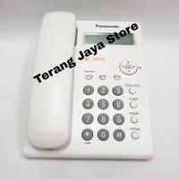 Telepon Kabel Panasonic KX-TSC11 (Putih) Pesawat Telepon Rumah TSC11