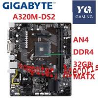 AM4 DDR4 For AMD A320 For Gigabyte GA A320M DS2 Original Used Desktop