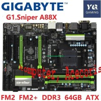 Original motherboard for Gigabyte G1.Sniper A88X DDR3 Socket FM2 A88 3
