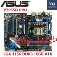Motherboard Asus p7p55d Pro Desktop LGA 1156 DDR3 16GB ATX uefi BIOS O