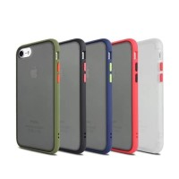 Iphone 7/8 Soft Case Matte Armor Colored Froasted Macaron