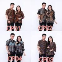 BATIK COUPLE BLOUSE / ATASAN WANITA DRESS / SERAGAM KANTOR MURAH