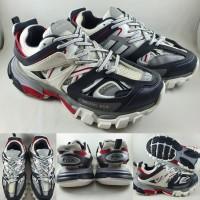 Sepatu Kets Balenciaga Track White Black Red