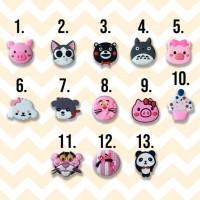 PopSocket 3D 4D PIG Cat Totoro PinkPhanter panda icecreem dog cute dog