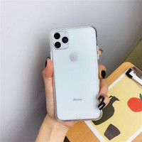 Premium High Quality Clear Matte Case New Iphone X XS XR XSMAX - IP 11 PRO MAX, CLEAR BENING
