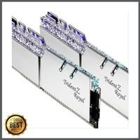 Ram DDR 4 Gskill Tridentz Royal 16gb 2x8gb 3200mhz silver