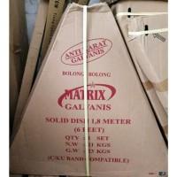Sip Matrix Galvanis Lubang Bolong Dish Antena Parabola Solid 6 feet