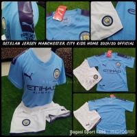 Jersey-Baju Bola Setelan Manchester City FC Citizen Kids-Anak Home