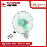 Maspion MWF-4001RC Aromatic Wall Fan Kipas Angin with Remote 16 Inch