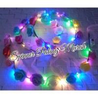 BDO09 LED Bando Bunga LED / Mahkota Bunga LED / FLOWER CROWN LED