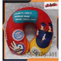 Bantal Leher Souvenir Custom Printing Murahh